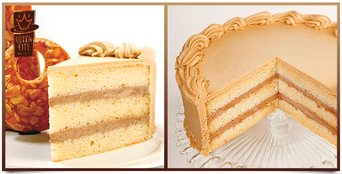 mocha almond cake 11150 three layers of yellow cake with almond simple ...